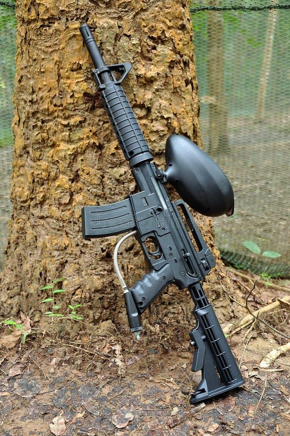 Pistola di Paintball immagine stock