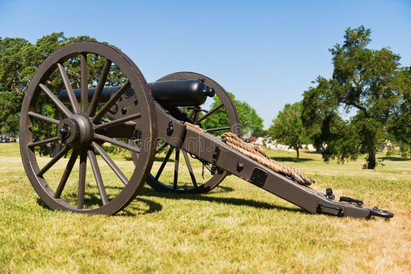 Pistola di Parrott fotografia stock libera da diritti