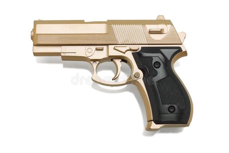 Pistola di plastica del giocattolo immagine stock