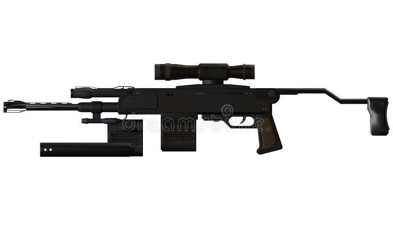 Pistola di Submachine fotografie stock libere da diritti