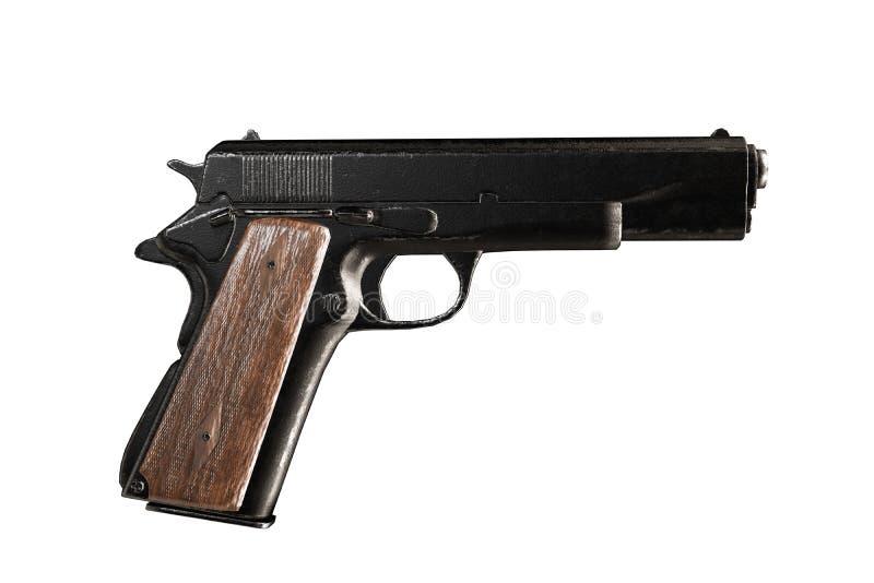 Pistola isolata su priorità bassa bianca royalty illustrazione gratis