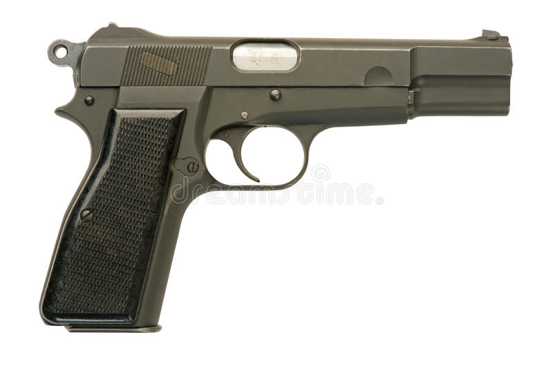 Pistola militar imagem de stock