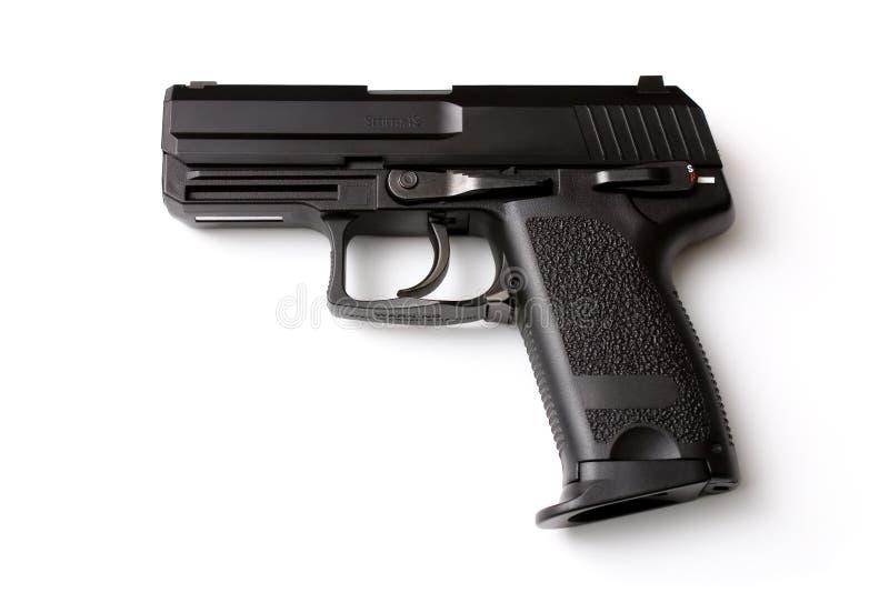 Pistola negra imagen de archivo