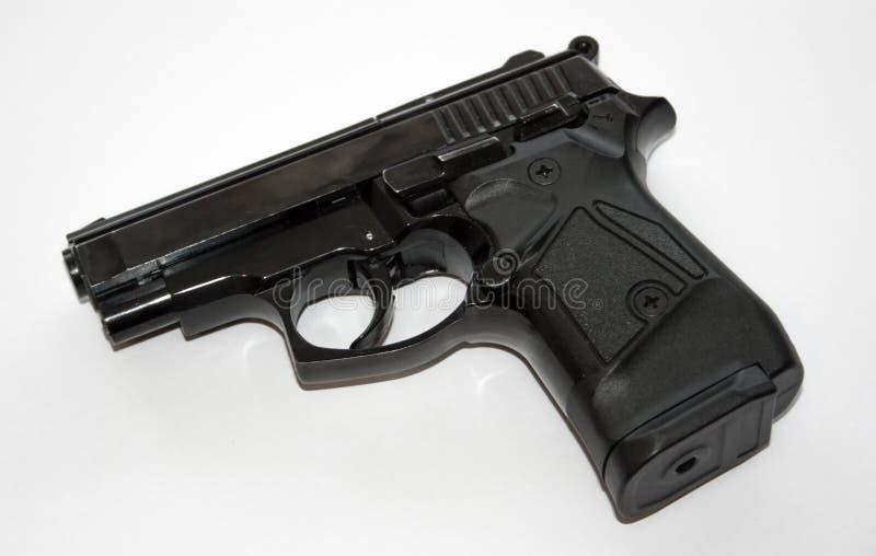 Pistola nera immagine stock