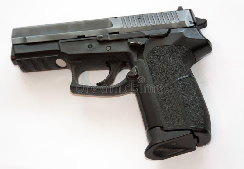 Pistola nera fotografia stock libera da diritti