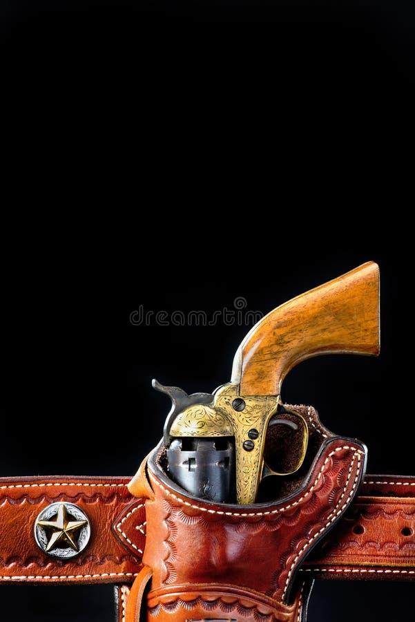 Pistola ocidental antiga imagem de stock