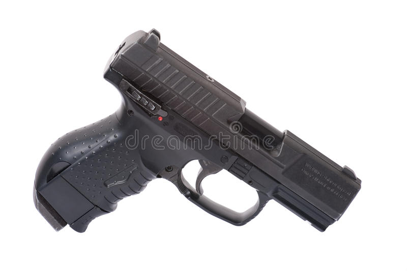 Pistola pneumática Walther imagem de stock royalty free