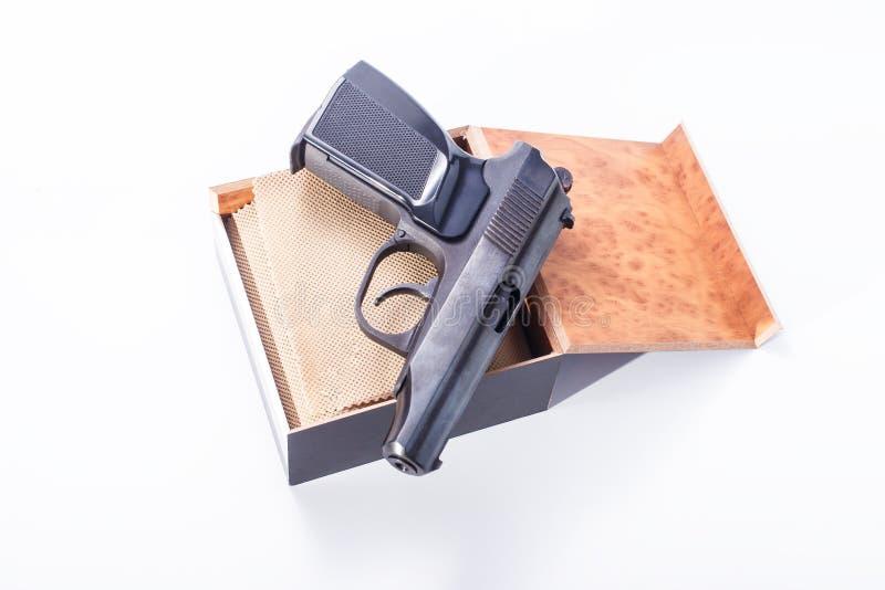 Pistola/rivoltella fotografia stock