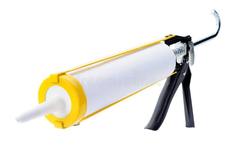 Pistola a spruzzo per presellatura fotografie stock libere da diritti