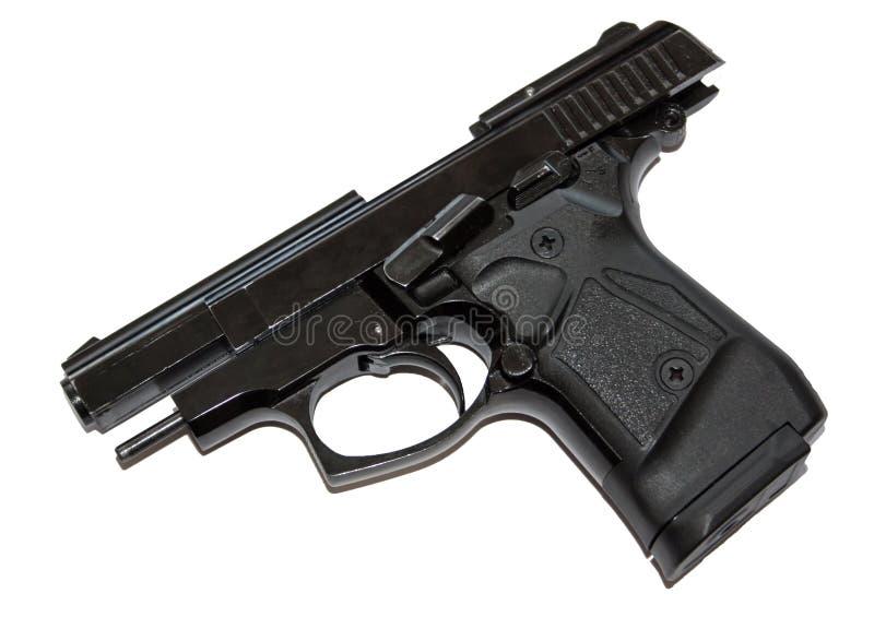 Pistola sulla fermata dello scorrevole fotografia stock libera da diritti