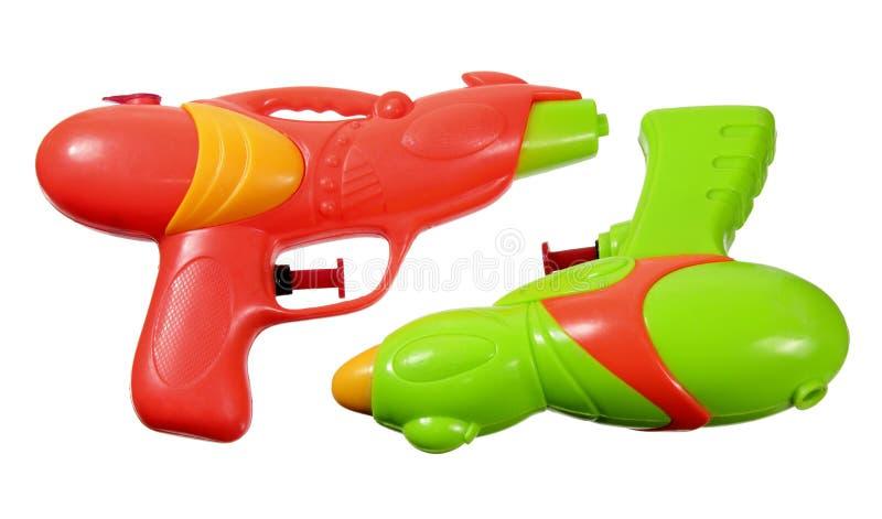 Pistolas de água fotos de stock royalty free