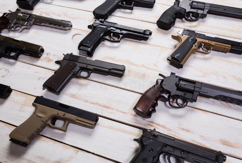 Pistole fotografie stock