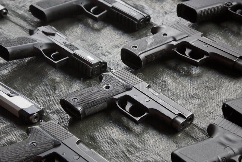 pistolen stock foto