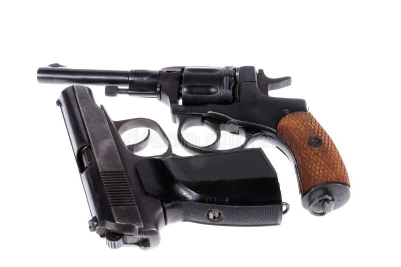 Pistolen stockbild