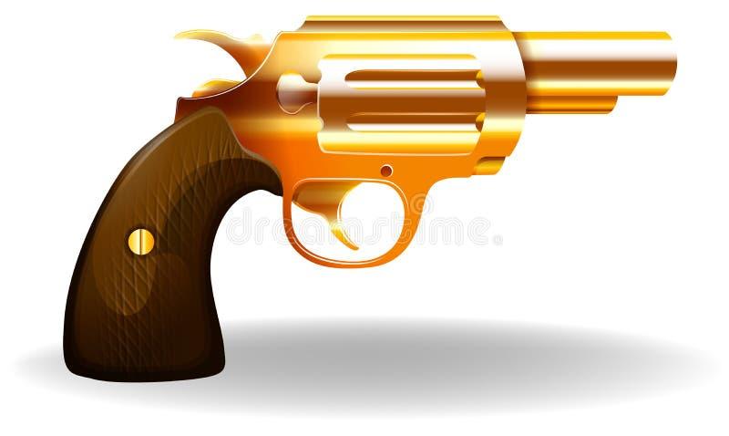 pistolet illustration libre de droits