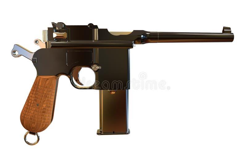 pistolet illustration stock