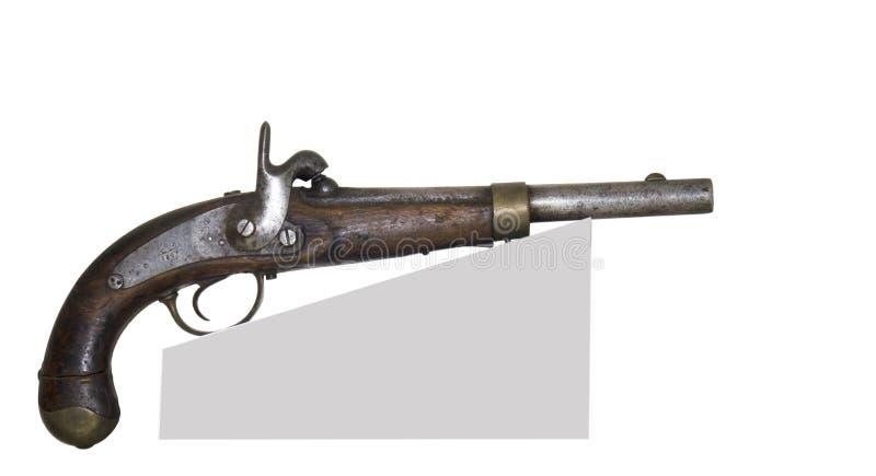 Pistolet antique photographie stock
