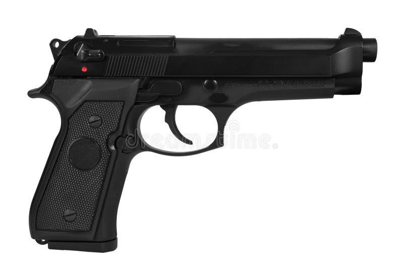 Pistolet automatique photo libre de droits