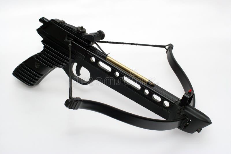 Pistolet chargé d'arbalète photo stock