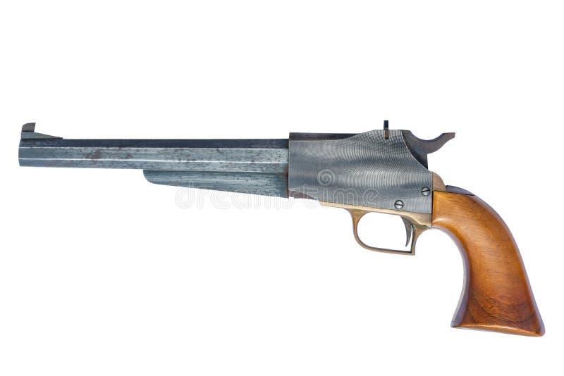 Pistolet de chargeur de museau de poudre noire photos libres de droits
