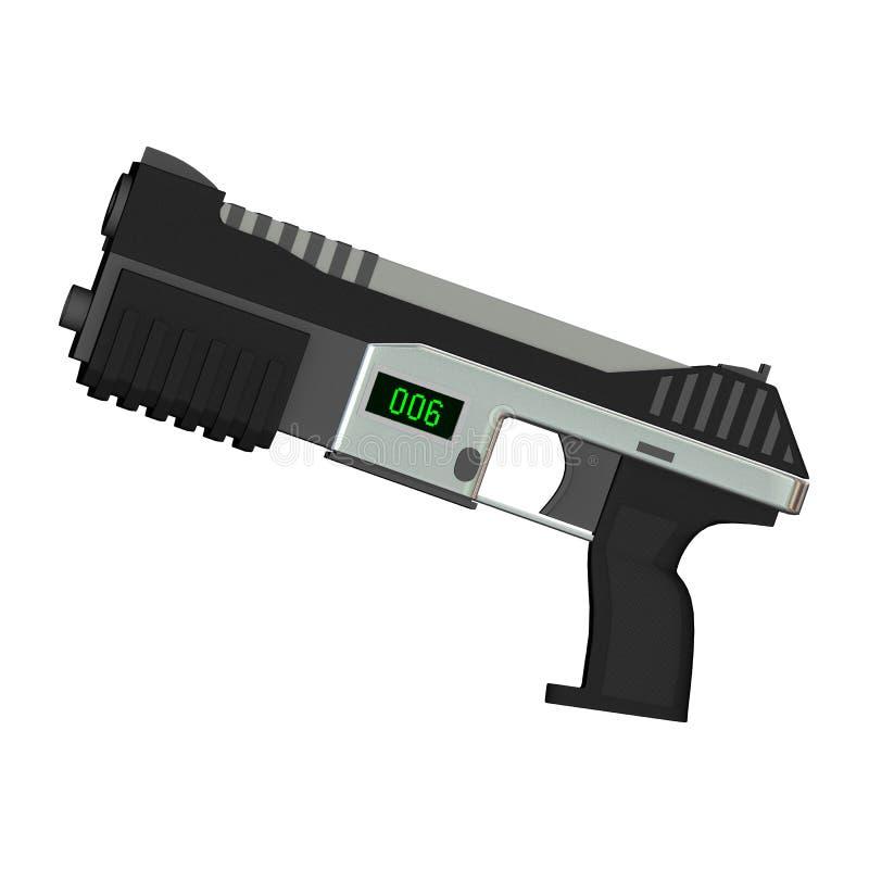 Pistolet de machine illustration de vecteur