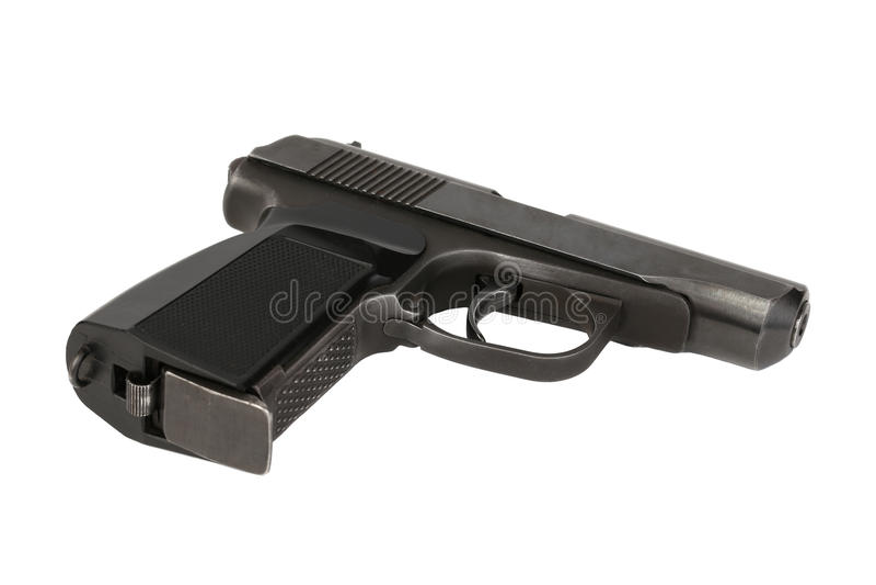 Pistolet de Makarov photographie stock