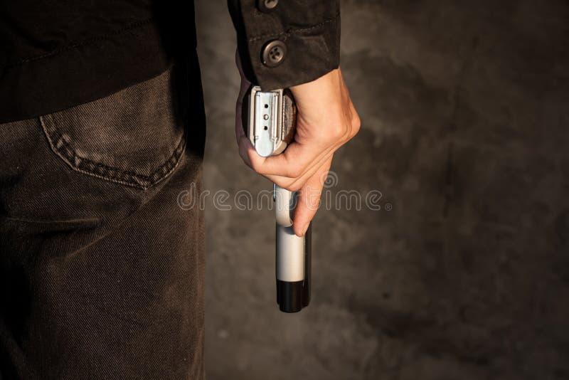 Pistolet de pistolet photo libre de droits