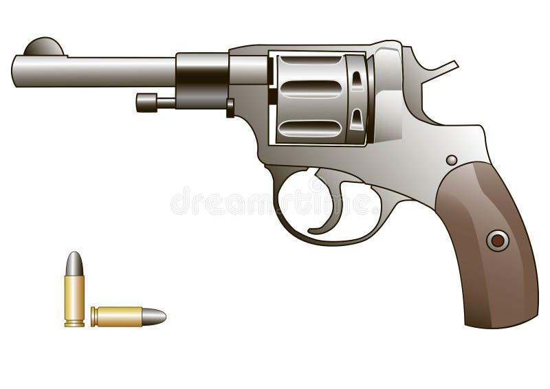 Pistolet de vecteur illustration libre de droits