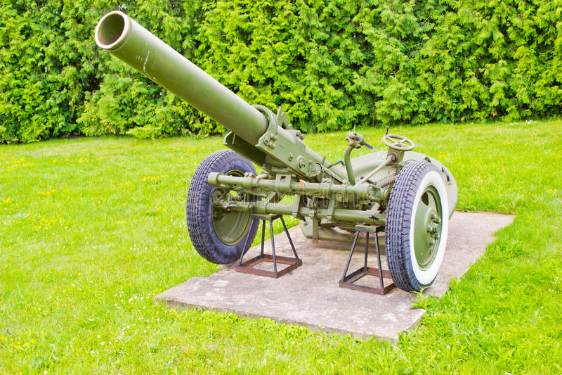 Pistolet druga wojna światowa fotografia stock