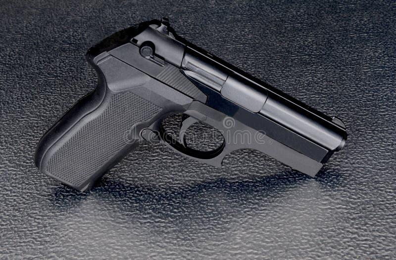 Pistolet intéressant même d'appui vertical photos libres de droits
