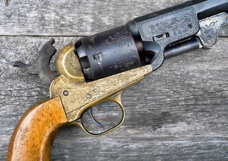 Pistolet który wygrywał zachód obraz royalty free
