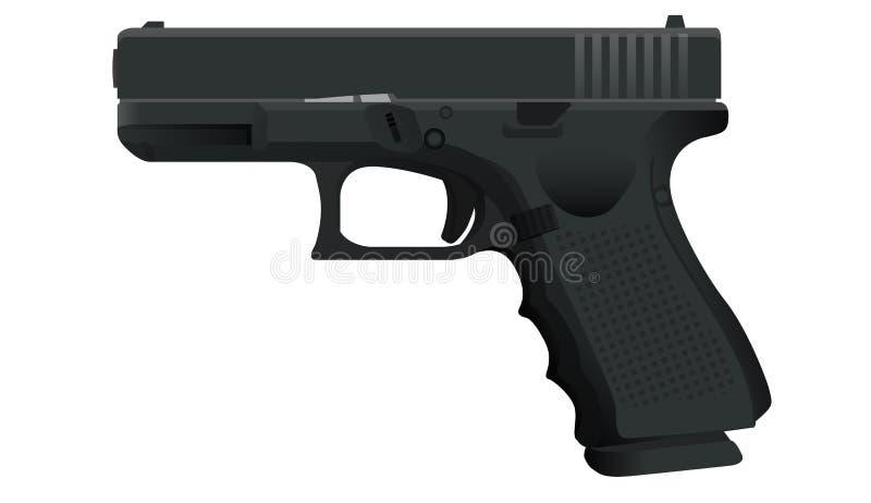 pistolet ilustracja wektor