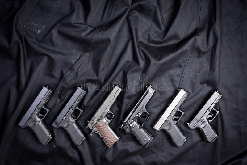 pistolets photo libre de droits