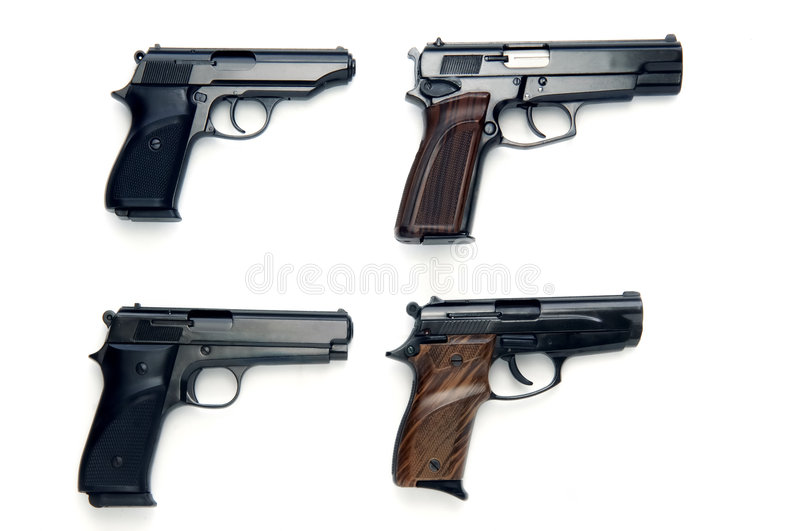 Download Pistolets photo stock. Image du déclenchement, pistolet - 8667876