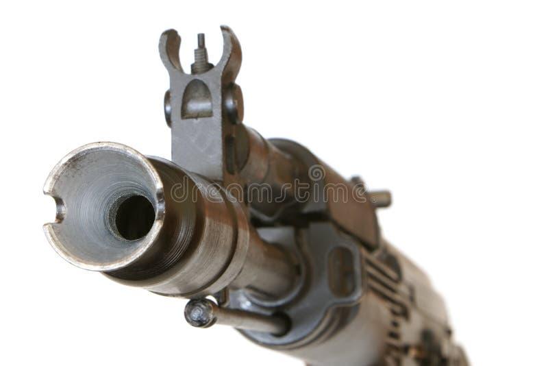 pistolhot arkivfoto