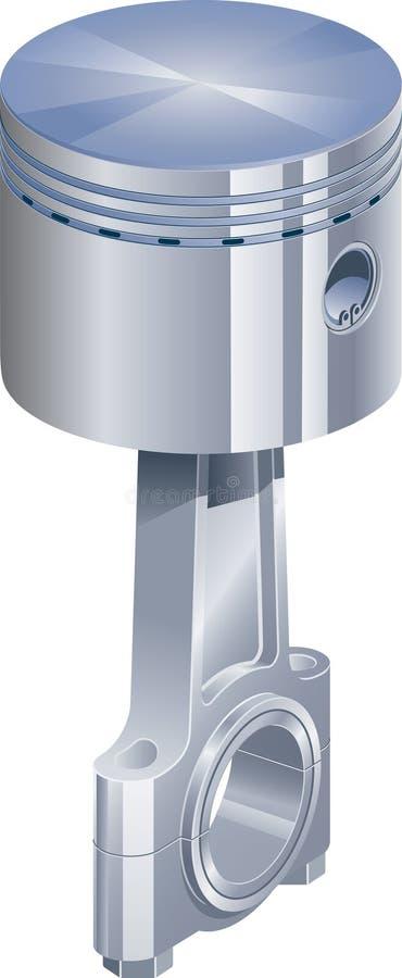Download Piston stock vector. Illustration of piston, combustion - 8432971