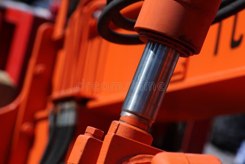 Piston hydraulique photos stock