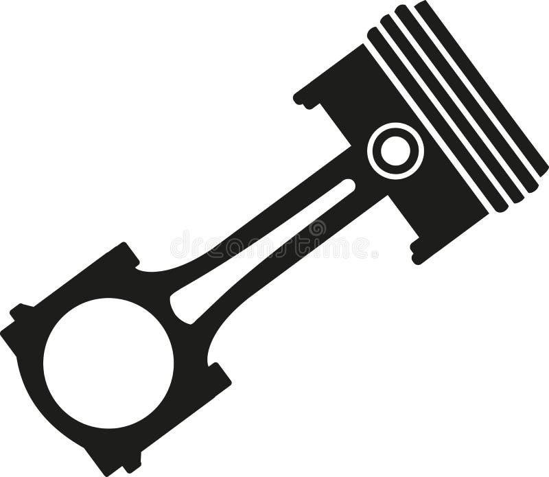 Piston icon vector stock illustration