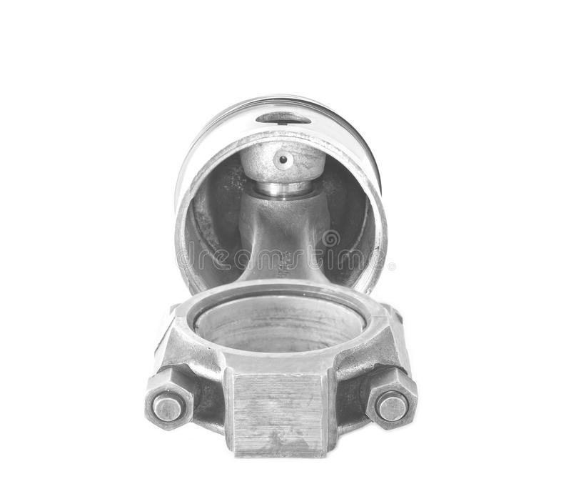 Piston utilisé avec une tige images libres de droits