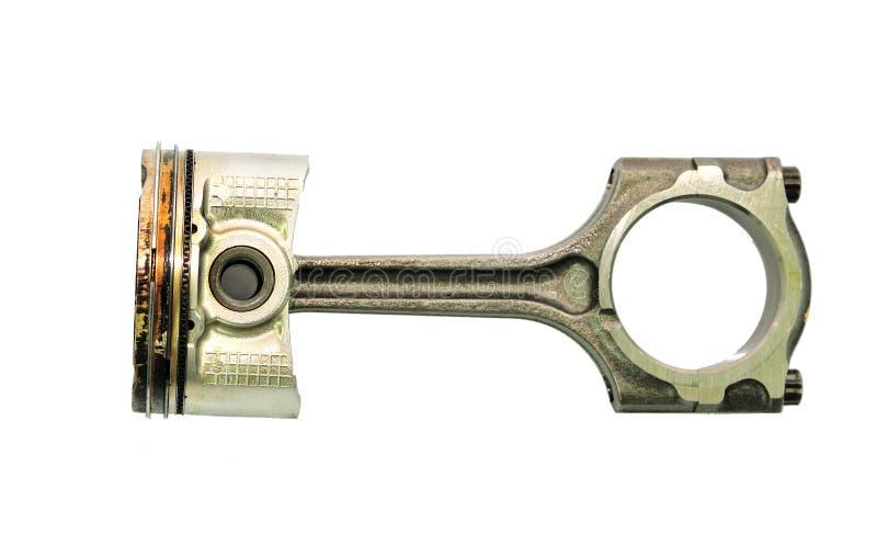 Pistong från en bilmotor. royaltyfria foton