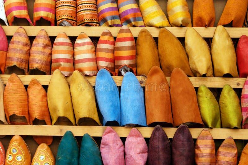 Pistoni sulla stalla del pattino nel Marocco fotografia stock libera da diritti