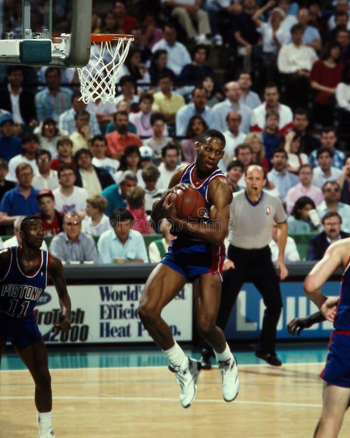 Pistons de Dennis Rodman Detroit photo stock