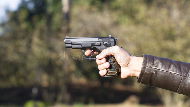 pistool stock foto's
