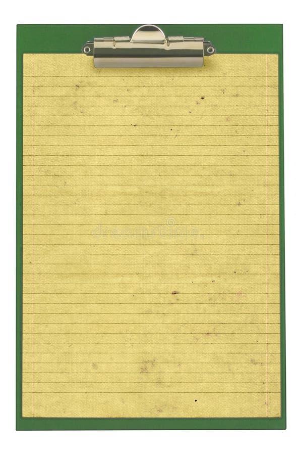 piszę kawałek papieru powlekane zablokowany fotografia royalty free