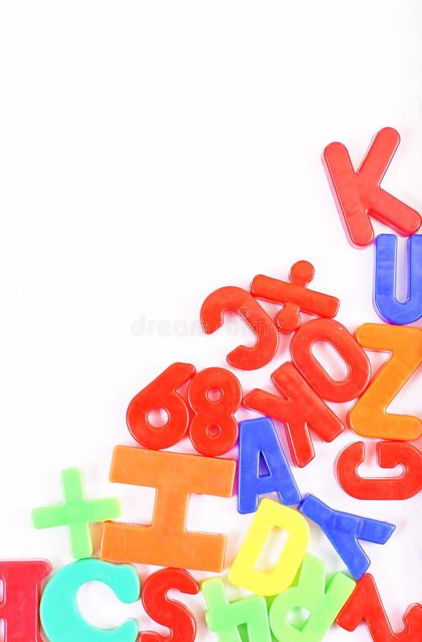 pisze list magnes zdjęcie royalty free