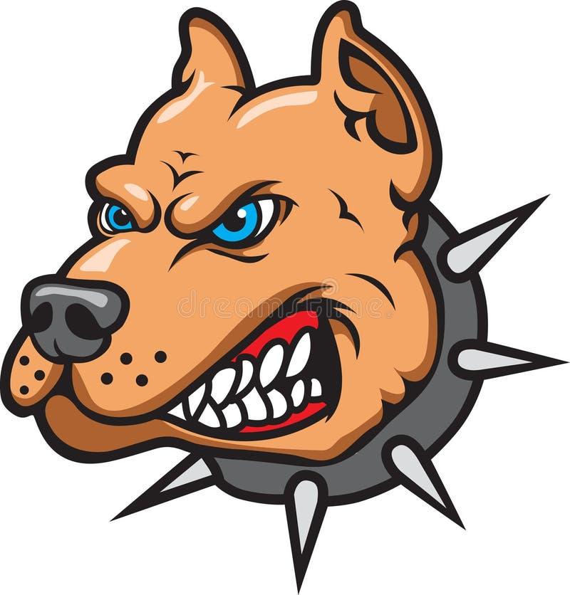 Download Pit Bull stock vector. Illustration of mascot, logo, sports - 7322640
