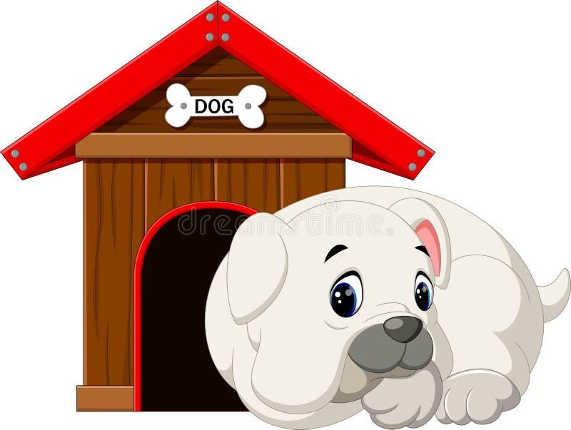 Pit Bull Dog illustrazione di stock