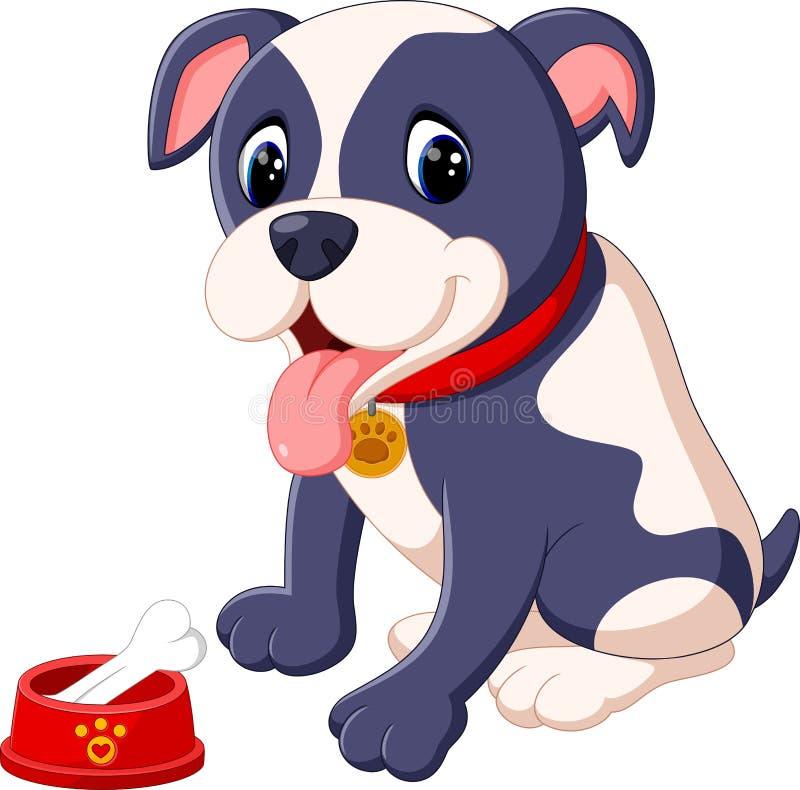 Pit Bull Dog illustrazione vettoriale