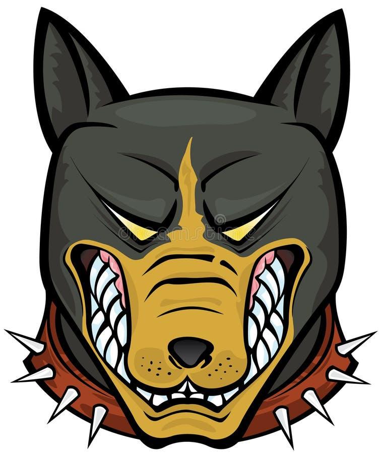 Pit Bull Terrier stock illustration