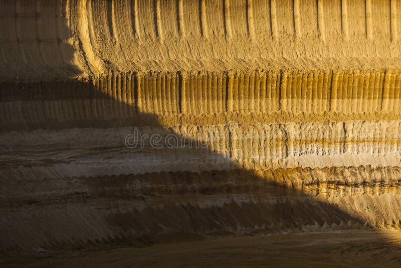 Pit Mine Wall stockbilder